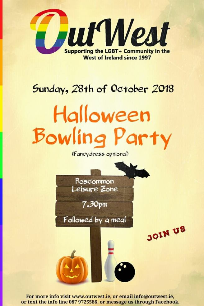 OutWest Halloween Bowling Party